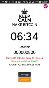 Bitcoin Maker poster