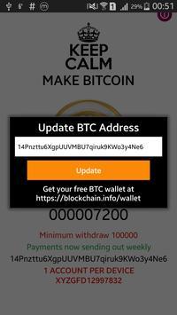 Bitcoin Maker screenshot 2