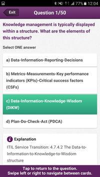 Official ITIL® v3 App captura de pantalla 1