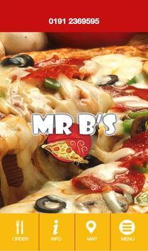Mr B's Takeaway poster