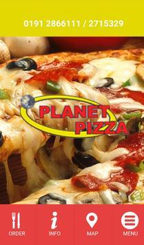 Planet Pizza Newbiggin Hall poster