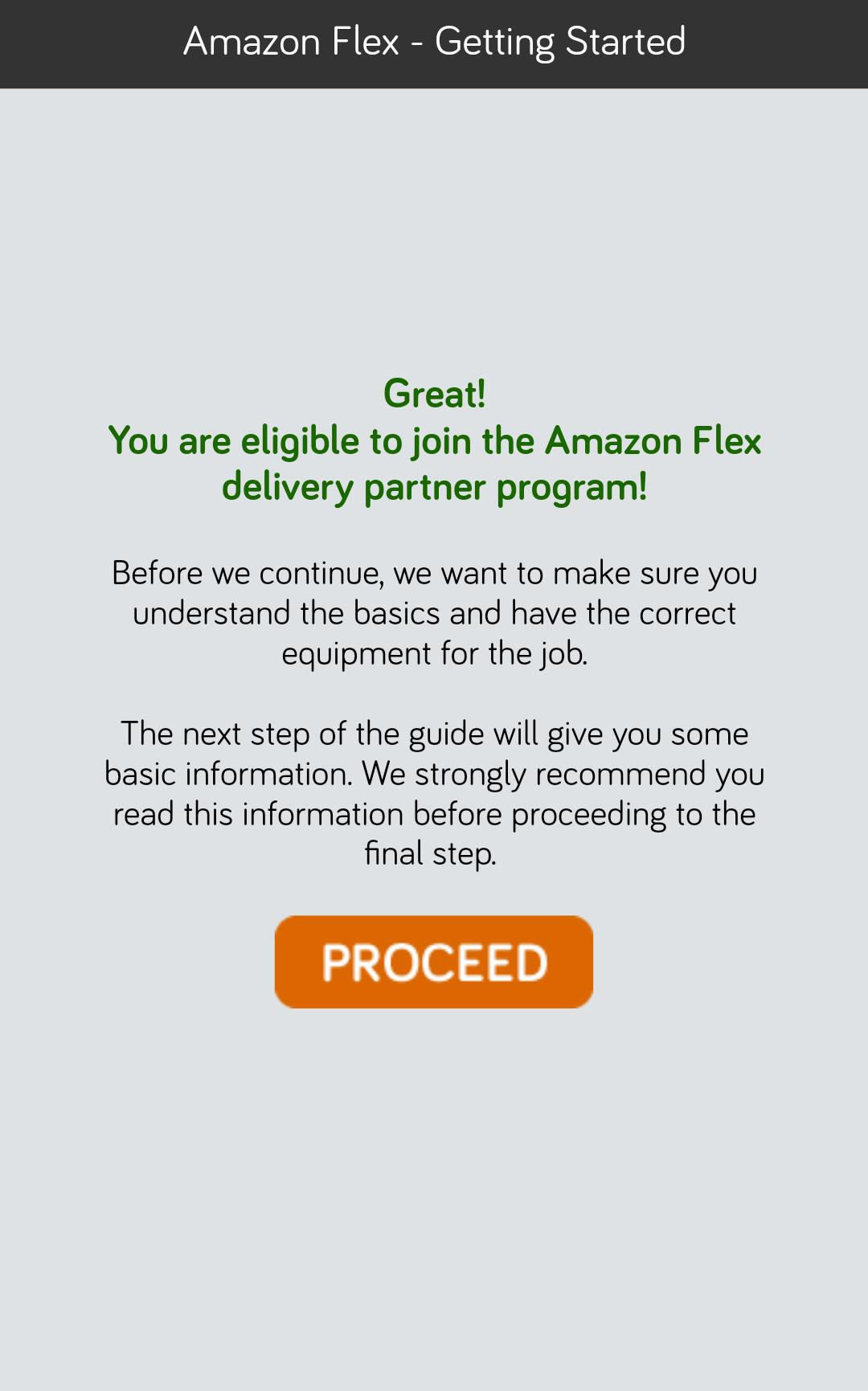 amazon flex descargar gratis