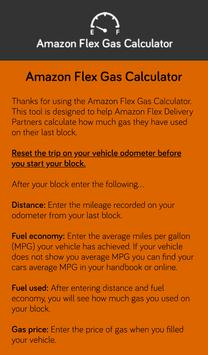 Amazon Flex - Gas Calculator for Android - APK Download