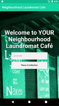 Neighbourhood Laundromat Cafe poster