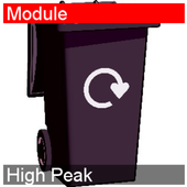 What Bin Day High Peak icon