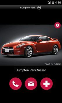 Dumpton Park Nissan poster