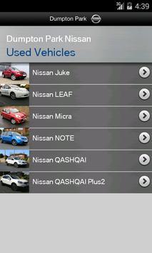 Dumpton Park Nissan apk screenshot