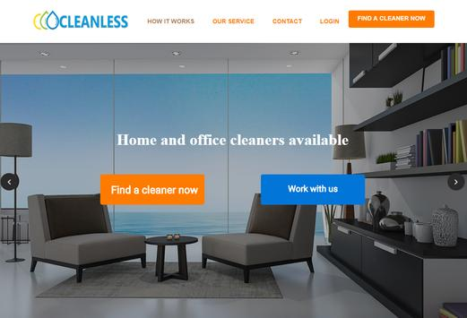 Cleanless.uk screenshot 2
