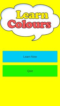 Learn Colours - For Kids poster