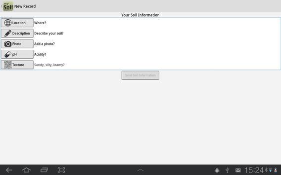 mySoil apk screenshot