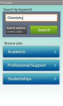 jobs.ac.uk Jobs apk screenshot
