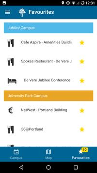 Nottingham Conferences Walking Guide apk screenshot