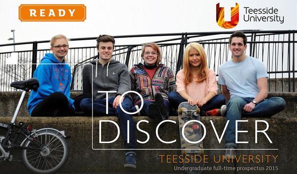 Teesside Uni Publications poster