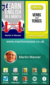 Martin Manser poster