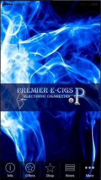 Premier E Cigs poster