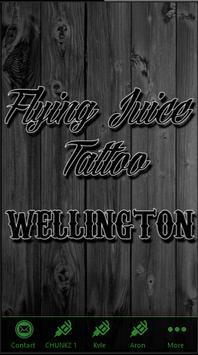 Flying Juice - Wellington poster