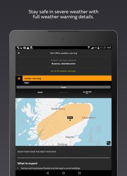 Met Office Weather Forecast apk screenshot