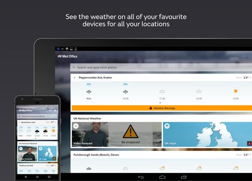 Met Office Weather Forecast apk screenshot