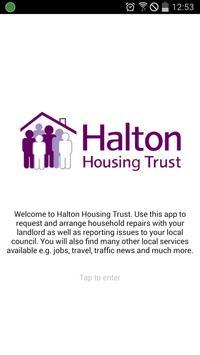 Halton Housing Trust poster
