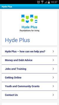 The Hyde Group apk screenshot