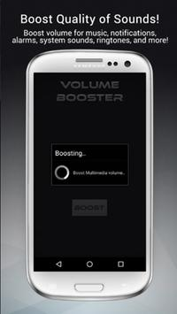 Volume Booster And EQualizer Amplifier apk screenshot