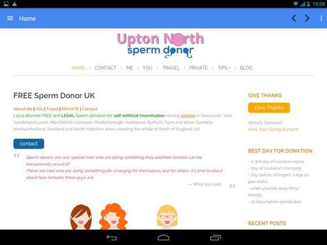 Free Sperm Donor UK screenshot 11