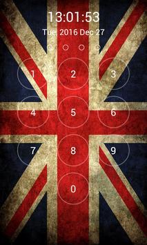 UK Flag Lock Screen screenshot 10