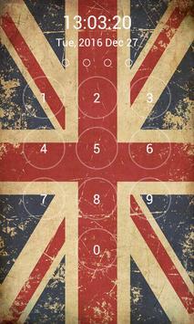 UK Flag Lock Screen screenshot 11