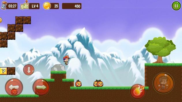 Jungle World Adventure Bro apk screenshot