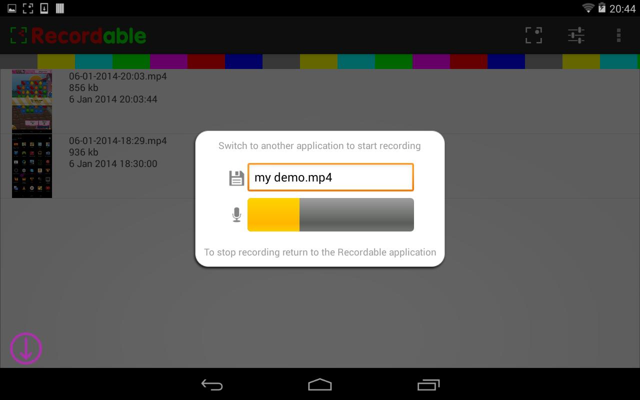 recordable activator app