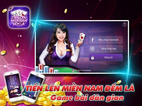 Tien Len Mien Nam Dem La poster