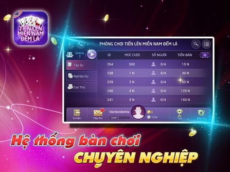 Tien Len Mien Nam Dem La screenshot 2