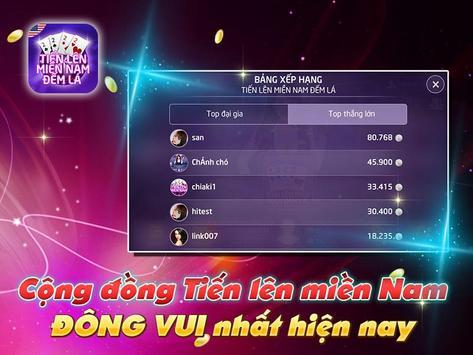 Tien Len Mien Nam Dem La screenshot 7