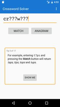Crossword Solver Poster Apk Screenshot