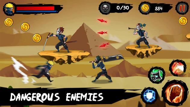 Ninja Runner Adventure screenshot 9
