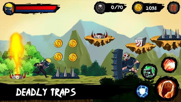 Ninja Runner Adventure screenshot 13