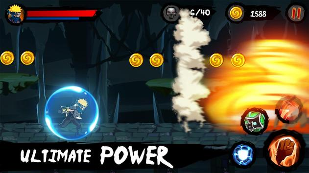 Ninja Runner Adventure screenshot 1