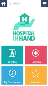 Hospital in Hand poster