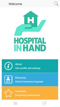 Hospital in Hand 2 poster