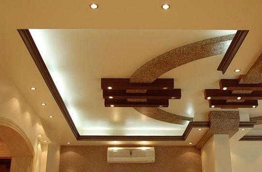 New Gypsum Ceiling Design poster