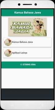 Javanese dictionary apk screenshot