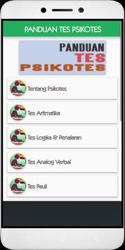 Psychotest Test Guides apk screenshot