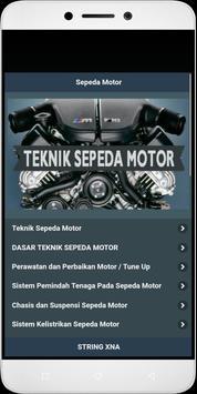 Motorcycle Engineering poster