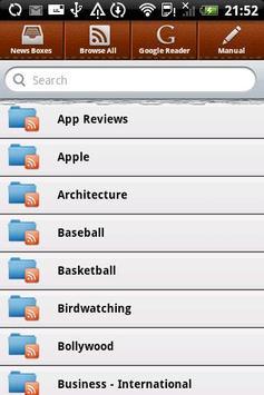 News Reader apk screenshot