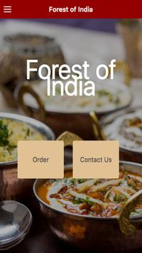 Forest of India Restaurant poster