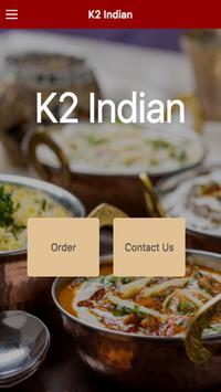 K2 Indian Restaurant poster