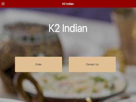 K2 Indian Restaurant screenshot 3