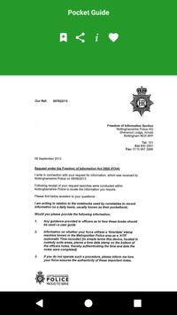 UK Police Pocket Guide screenshot 3