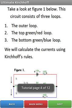 Ultimate Kirchhoff screenshot 1