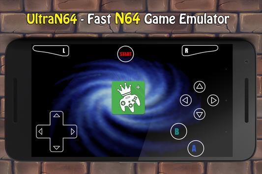 UltraN64 ( N64 Emulator ) poster